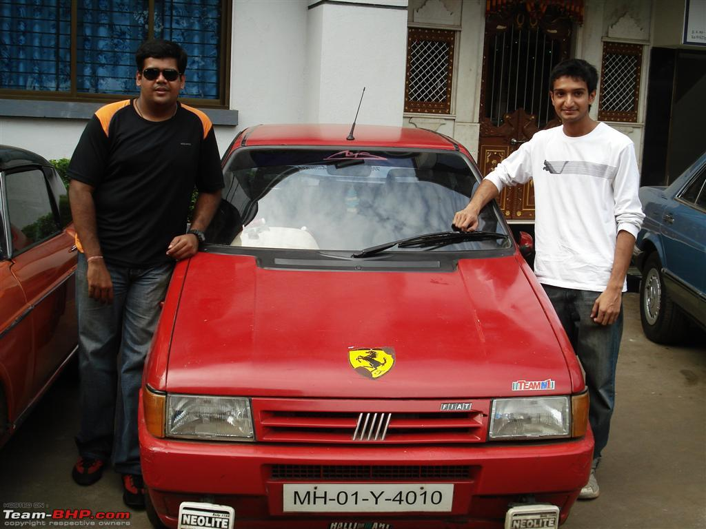 seen with his Uno diesel
