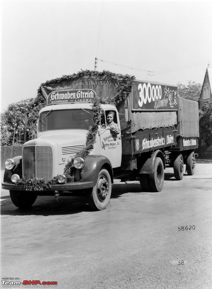 The classic commercial vehicles bus trucks etc thread for Old mercedes benz trucks