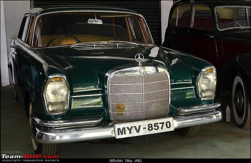 Vintage & Classic Mercedes Benz Cars in India-mercgreen220a.jpg