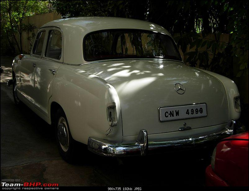 Vintage & Classic Mercedes Benz Cars in India-benz-ponton-019.jpg