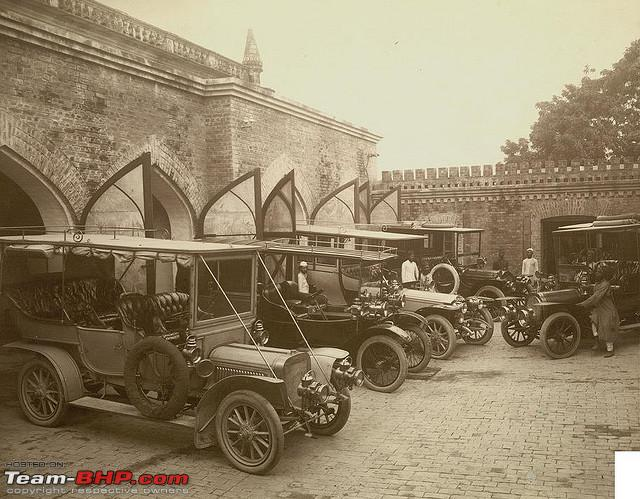 Name:  Garage of Nawab of Rampur 1911.jpg