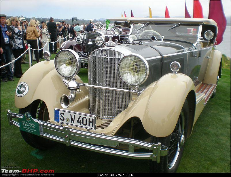 Indians and their Cars at Pebble Beach (PB)-kashmir-mercedes-ss-frt-3q-l-pb.jpg