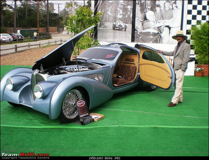 Indians and their Cars at Pebble Beach (PB)-prem-bugatti.jpg