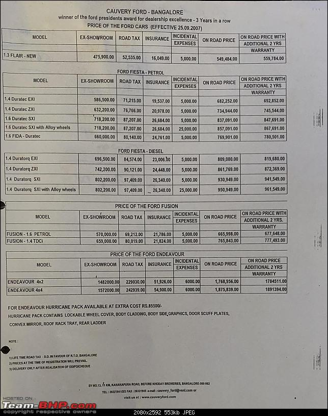 """2 million rupees, and still not a """"complete"""" car for me to buy?-fordpricelist2007.jpg"""