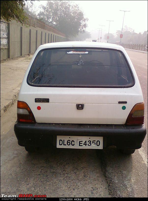 Confused - Whether to Keep my Old Love ( Maruti 800 ) or not??-photo0628.jpg