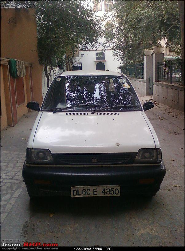 Confused - Whether to Keep my Old Love ( Maruti 800 ) or not??-photo0663.jpg