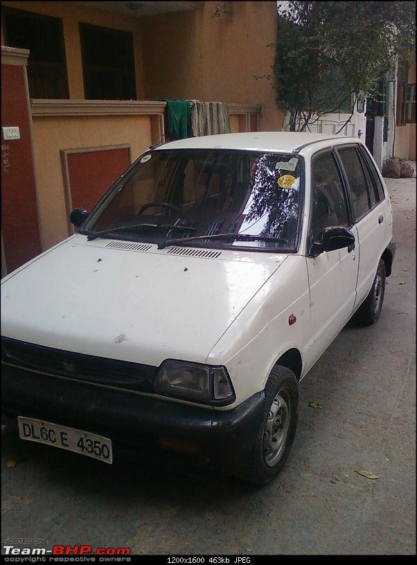 Confused - Whether to Keep my Old Love ( Maruti 800 ) or not??-photo0664.jpg