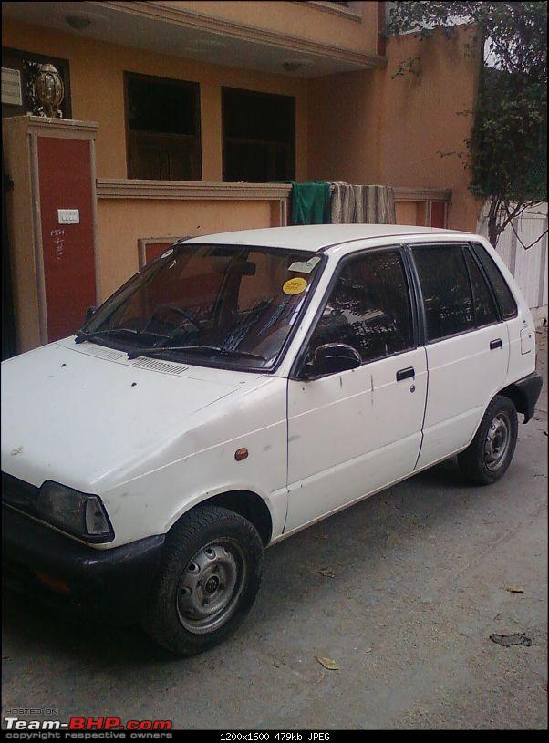 Confused - Whether to Keep my Old Love ( Maruti 800 ) or not??-photo0665.jpg