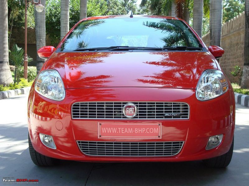 Fiat grande punto test drive review team bhp for Garage fiat flers
