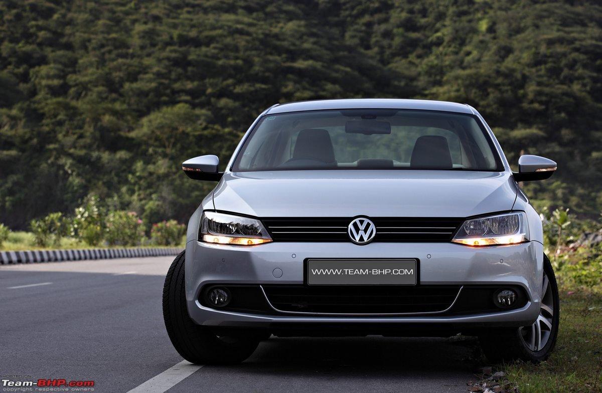 volkswagen jetta test drive review team bhp