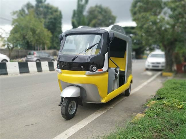 India's 1st ultra-capacitor battery based e-rickshaw