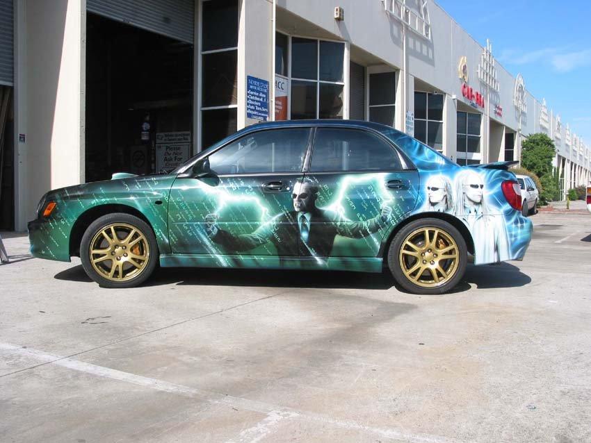 Custom Car Paint Job Designs Cool Car Paint Designs