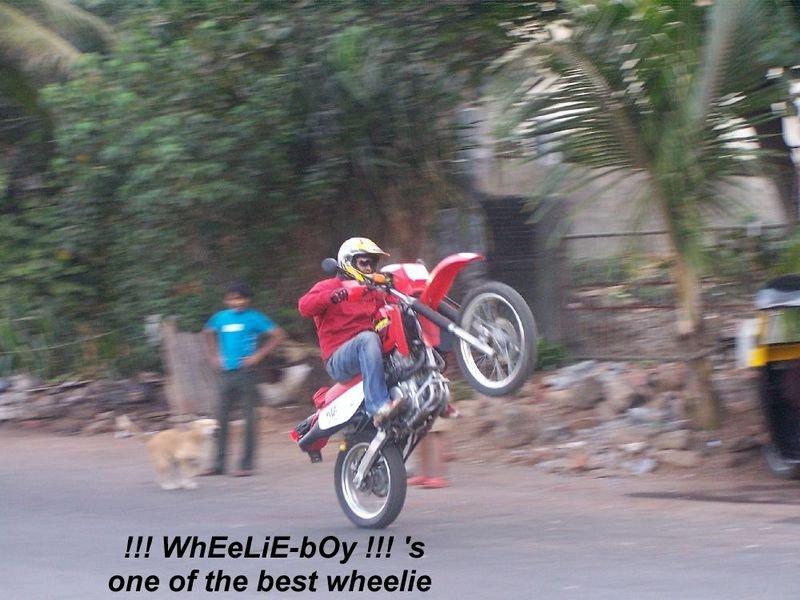 wheelie boy   honda xr  team bhp