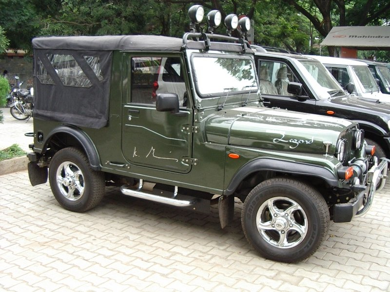 Wanted To Get Some Info About An Army Spec Mahindra Mm550