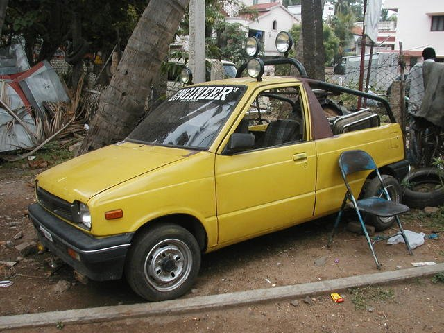 Best maruti 800 modification.