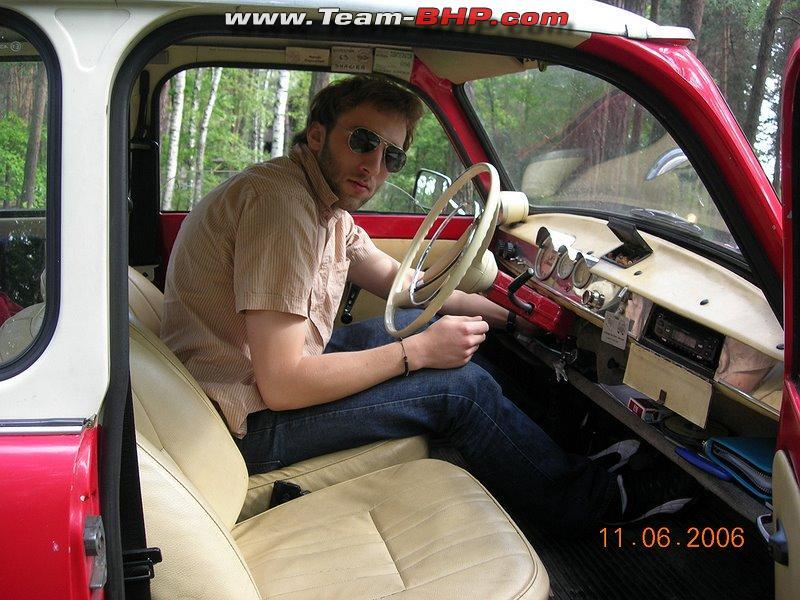 My Polish Brother in his another Trabant.