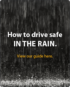 How to drive safe in the rain