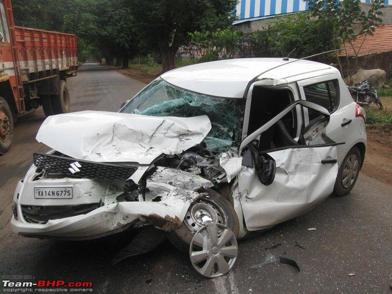 Seat Belts Saved My Life! Stories & Pictures   Team-BHP