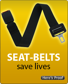Seatbelts save lives. Here's proof