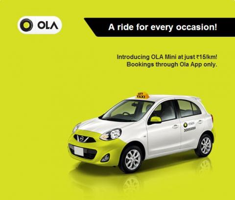 Uberx A Low Cost Taxi Service By Uber Team Bhp OLA's new cab services | Team-BHP
