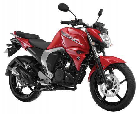 Yamaha launches fz and fz s version 2 0 with fuel for Yamaha fz back tyre price