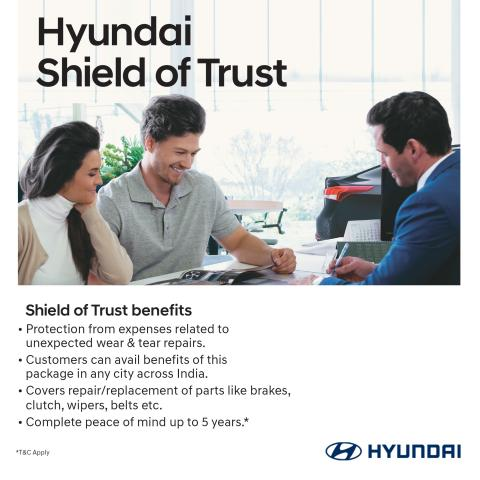 Hyundai 'Shield of Trust' package covers 14 wear & tear parts - Team-BHP