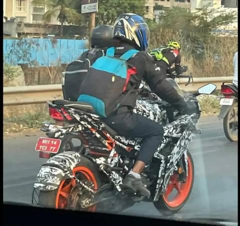 2021 KTM RC 200 spotted testing in India - Team-BHP