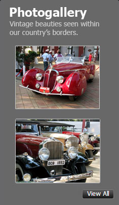 Pictures of Vintage Cars