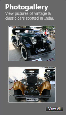 View pictures of vintage cars